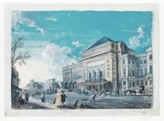 Théâtre de la Porte-Saint-Martin - French painter
