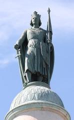 Barrière du Trône - Français:   Statue Saint-Louis par Antoine Étex, barrière du Trône, Paris