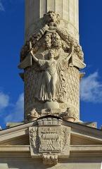 Barrière du Trône - Français:   Détail de la colonne Philippe Auguste - Barrière du Trône - Paris 12ème arrondissement