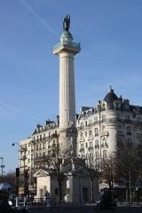 Barrière du Trône - Deutsch:   Place de la Nation in Paris