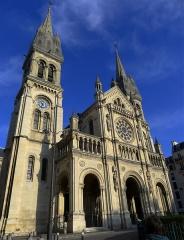 Eglise Saint-Ambroise - Église Saint-Ambroise - Paris XI