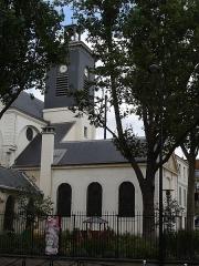 Eglise Sainte-Marguerite -  Église Sainte-Marguerite, rue Saint-Bernard (Paris XIe arrondissement).