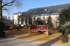 Eglise Sainte-Marguerite -  Square Raoul Nordling @ Paris