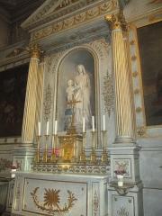 Eglise Sainte-Marguerite - Autel de la Vierge en l'église Sainte-Marguerite de Paris.