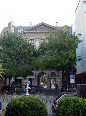 Hôpital Saint-Antoine - English: Entrance to the hospital Saint-Antoine Paris 12eme France