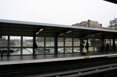 Métropolitain, station Bastille -  Bastille metro station