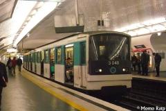 Métropolitain, station Nation - Français:   MF67 Ligne 9