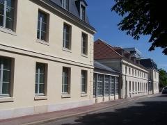 Hôpital de la Salpêtrière - English: Historical buildings of the «École de la Salpêtrière», psychiatric school.