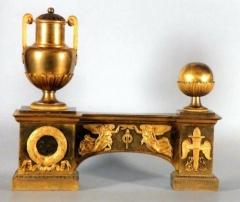 Mobilier National - Français:   Feu, vers 1808-1810, bronze doré, Ravrio, Mobilier National.