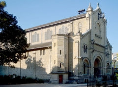 Eglise Notre-Dame-du-Travail -  Notre Dame du Travail, Paris.