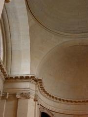 Hôpital Cochin (ancien noviciat des Capucins) - Intérieur de l'église abbatiale Saint-Sacrement de l'abbaye de Port-Royal de Paris (75014).