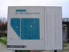 Cimetière Montparnasse - Paris - Cimetière du Montparnasse
