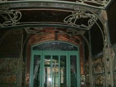 Immeuble dit Castel Béranger - Deutsch: Der Eingang des Castel Béranger von Hector Guimard in Paris, Rue La fontaine
