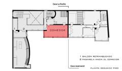 Villa La Roche, actuellement Fondation Le Corbusier - English: Planta Comedor