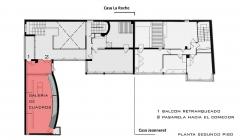 Villa La Roche, actuellement Fondation Le Corbusier - English: Planta de la Galería de Cuadros