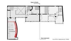 Villa La Roche, actuellement Fondation Le Corbusier - English: Planta Rampa Interior