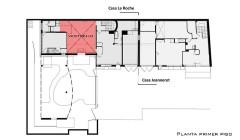 Villa La Roche, actuellement Fondation Le Corbusier - English: Planta Vestibulo
