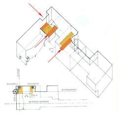 Villa La Roche, actuellement Fondation Le Corbusier - English: Retranqueos