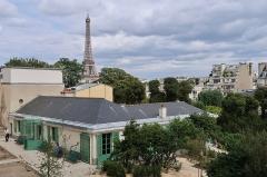 Pavillon de Balzac, actuellement musée - Maison de Balzac, rue Raynouard (Paris, 16e).