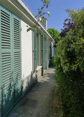 Pavillon de Balzac, actuellement musée - Rue Raynouard (n°47 maison de Balzac allée) - Paris XVI