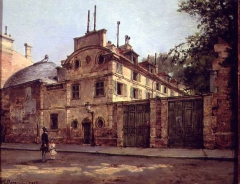 Pavillon de Balzac, actuellement musée - La maison de Honoré de Balzac, rue Fortunée