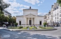 Eglise Sainte-Marie-des-Batignolles -  Église Sainte-Marie-des-Batignolles, Place du Docteur-Félix-Lobligeois, Paris.