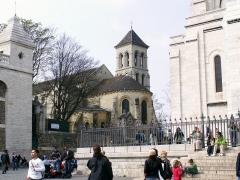 Eglise Saint-Pierre-de-Montmartre - Dansk: vue du Sacré-Coeur