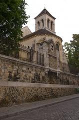 Eglise Saint-Pierre-de-Montmartre -  Église Saint-Pierre de Montmartre, Paris.