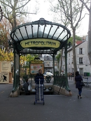 Métropolitain, station Abbesses -  Abbesses (Paris Metro)