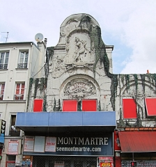 Théâtre de l'Elysée-Montmartre, ancien dancing -  Élysée Montmartre, Paris.