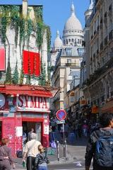Théâtre de l'Elysée-Montmartre, ancien dancing -  Élysée Montmartre and Sacré-Cœur, Paris.
