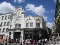 Théâtre de l'Elysée-Montmartre, ancien dancing - Français:   Façade de l\'Élysée-Montmartre.