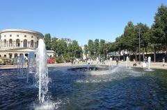 Ancienne barrière d'octroi de la Villette ou rotonde de la Villette -  La Rotonde @ Place Stalingrad @ Paris
