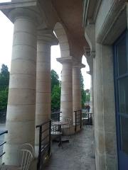 Ancienne barrière d'octroi de la Villette ou rotonde de la Villette - Français:   Paris - Rotonde de La Villette - 2e étage