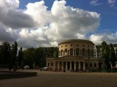 Ancienne barrière d'octroi de la Villette ou rotonde de la Villette - English:   Place de la Bataille de Stalingrad - La Rotonde