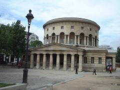 Ancienne barrière d'octroi de la Villette ou rotonde de la Villette - Français:   Rotonde de la Villette à Paris de l\'architecte Claude Nicolas Ledoux.