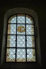 Eglise - Deutsch: Bleiglasfenster in der Kirche Saint-Barthélemy in Beaumont-du-Gâtinais (Frankreich)