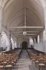 Eglise Saint-Martin - Deutsch: Katholische Kirche Saint-Martin in Égreville im Département Seine-et-Marne (Region Île-de-France/Frankreich), Innenraum