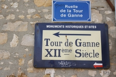 Château (vestiges) - English: Grez-sur-Loing in the Departement Seine-et-Marne (Île-de-France)