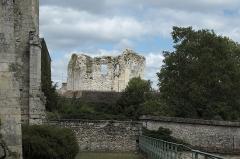 Château (vestiges) - Deutsch: Tour de Ganne in Grez-sur-Loing im Département Seine-et-Marne (Île-de-France/Frankreich)
