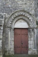 Eglise - Deutsch: Katholische Kirche Notre-Dame et Saint-Laurent in Grez-sur-Loing im Département Seine-et-Marne (Île-de-France/Frankreich), Portal