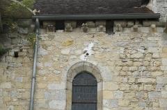 Eglise - Deutsch: Katholische Kirche Notre-Dame et Saint-Laurent in Grez-sur-Loing im Département Seine-et-Marne (Île-de-France/Frankreich), Kragsteine