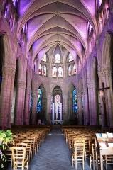 Abbaye Saint-Pierre - Abbatiale Notre-Dame-des-Ardents et Saint-Pierre - Lagny sur Marne.