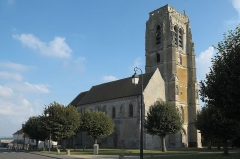 Eglise - Deutsch: Katholische Pfarrkirche Notre-Dame-de-l'Assomption in May-en-Multien im Département Seine-et-Marne in der Region Île-de-France (Frankreich)