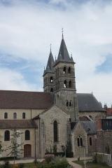 Eglise Notre-Dame - Deutsch: Katholische Pfarrkirche Notre-Dame in Melun im Département Seine-et-Marne in der Region Île-de-France (Frankreich)