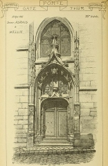 Eglise Saint-Aspais - English:  Identifier: materialsdocumen06unse (find matches)  Title: Materials and documents of architecture and sculpture: classified alphabetically  Year: 1915 (1910s)  Authors:   Subjects:  Decoration and ornament, Architectural  Publisher:  Chicago: G. Broes Van Dort Co.  Contributing Library:  Getty Research Institute  Digitizing Sponsor:  Getty Research Institute    View Book Page: Book Viewer  About This Book: Catalog Entry  View All Images: All Images From Book  Click here to view book online to see this illustration in context in a browseable online version of this book.    Text Appearing Before Image:  \'  Text Appearing After Image:  fO H T£ XX TtlîA MET .    Note About Images   Please note that these images are extracted from scanned page images that may have been digitally enhanced for readability - coloration and appearance of these illustrations may not perfectly resemble the original work.