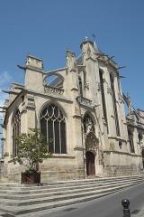 Eglise Saint-Aspais - Deutsch:   Katholische Pfarrkirche Saint-Aspais in Melun im Département Seine-et-Marne (Region Île-de-France/Frankreich)
