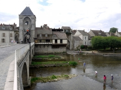Pont de Moret - English: Pont de Moret-sur-Loing, Ile de France, France