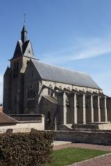 Eglise Saint-Martin et Saint-Magne - Deutsch: Katholische Pfarrkirche Saint-Martin in Nangis im Département Seine-et-Marne (Île-de-France/Frankreich)