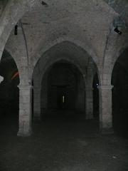 Hôtel-Dieu - English:  Basement of the ancient Hôtel-Dieu (medieval hospital) in Provins, Seine-et-Marne, Île-de-France, France